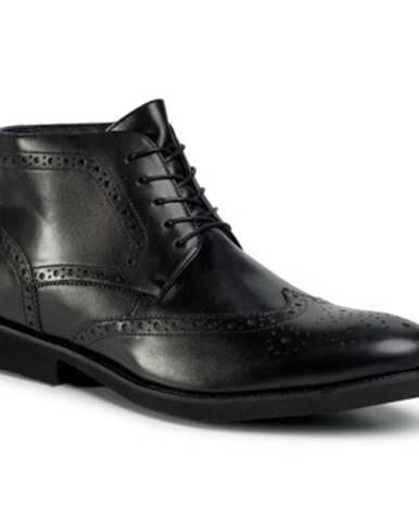 Čierne topánky Lasocki for men