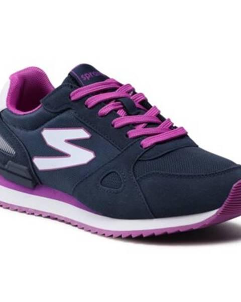 Fialové topánky Sprandi