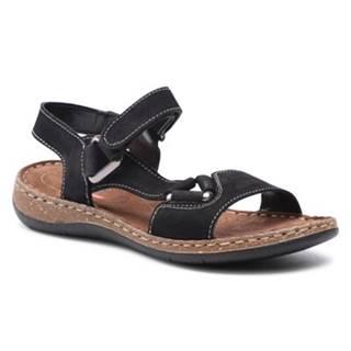 Sandále GO SOFT WI23-4773-01 Prírodná koža(useň) - Nubuk