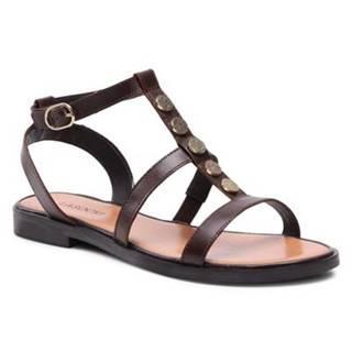Sandále Lasocki WI23-FOXI-24 Prírodná koža(useň) - Lícova