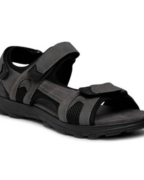 Šedé sandále Lanetti