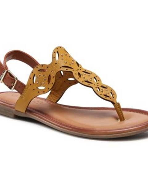 Žlté sandále s.Oliver RED LABEL