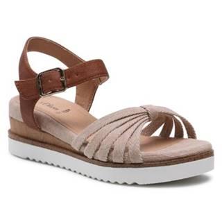Sandále S.Oliver RED LABEL 5/5-28204/26 Ekologická koža/-Ekologická koža