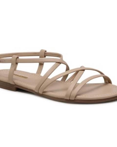 Béžové sandále Jenny Fairy