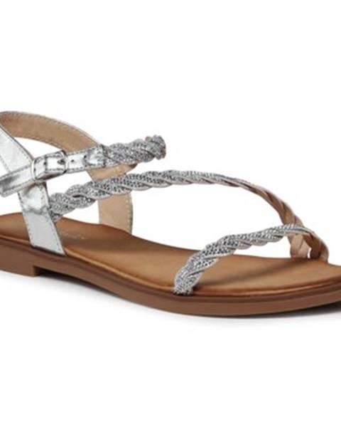 Strieborné sandále Jenny Fairy