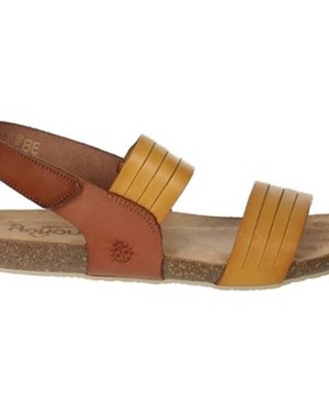 Béžové sandále Yokono