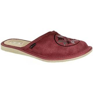 Papuče  Dámske bordové papuče WINY