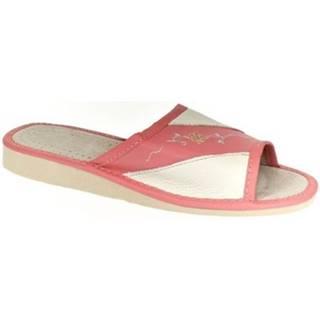 Papuče John-C  Dámske červené papuče SHONA
