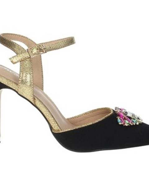Čierne sandále Menbur