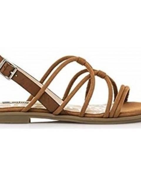 Hnedé sandále MTNG