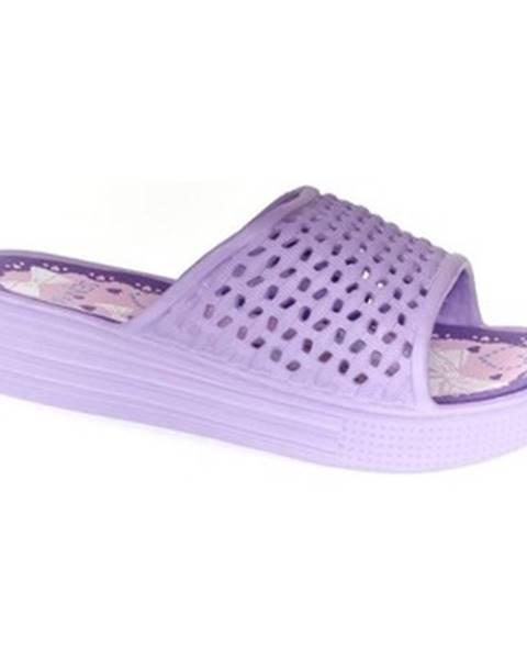 Fialové topánky John-C