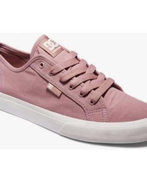 Ružové tenisky DC Shoes
