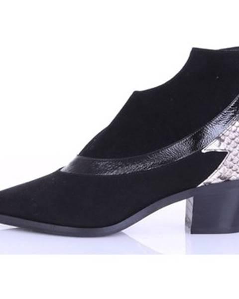 Čierne topánky Alchimia