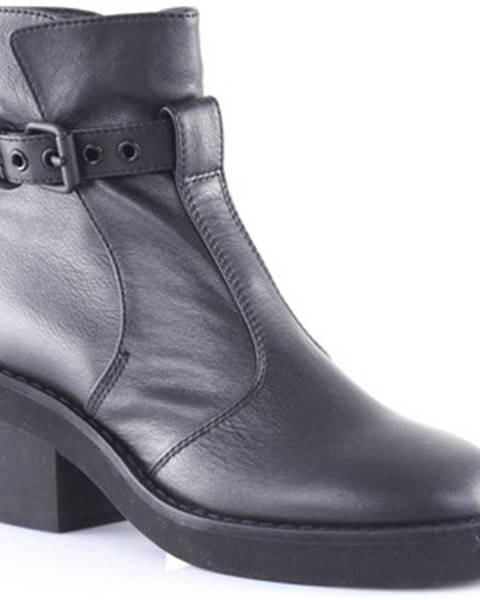Čierne topánky Mm6 Maison Margiela