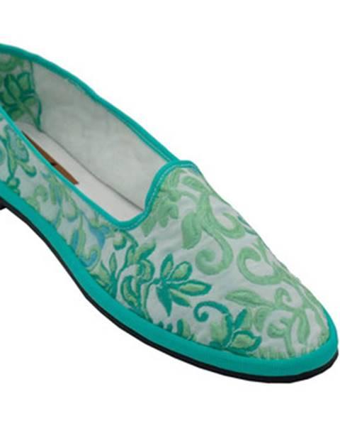 Biele papuče Friulane