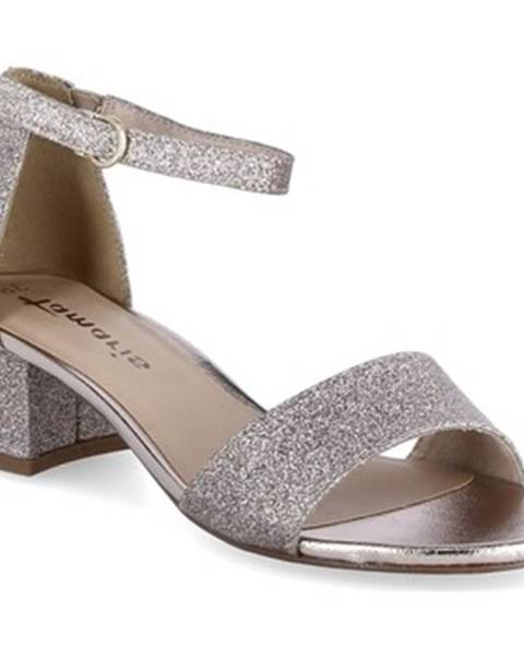 Zlaté sandále Tamaris