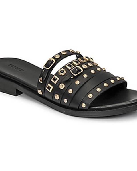 Čierne sandále Bronx