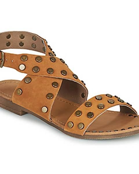 Hnedé sandále Ikks