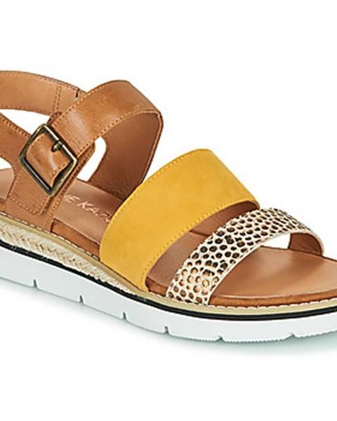 Hnedé sandále Karston