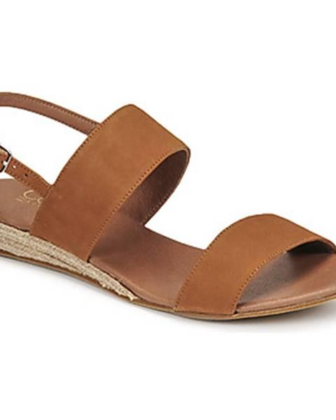 Hnedé sandále Casual Attitude