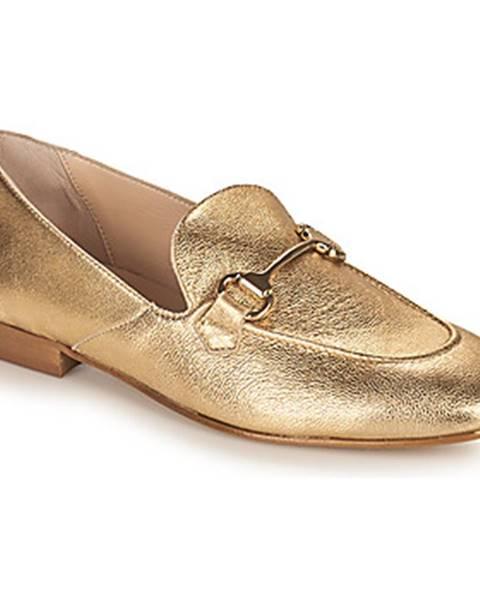 Zlaté mokasíny Betty London
