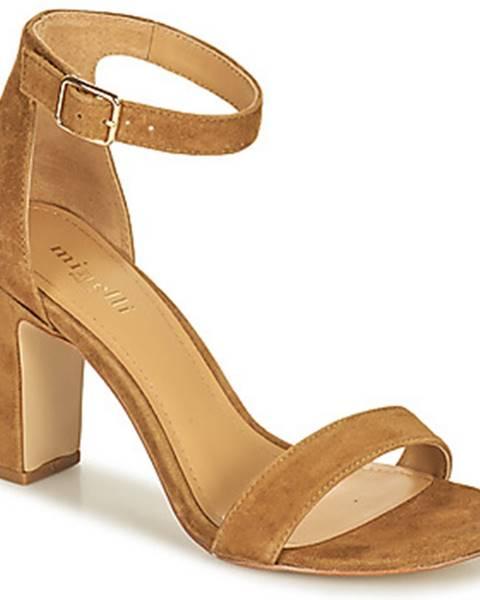 Hnedé sandále Minelli