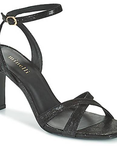 Čierne sandále Minelli
