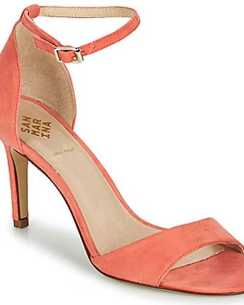 Ružové sandále San Marina