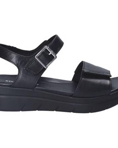 Čierne sandále Stonefly