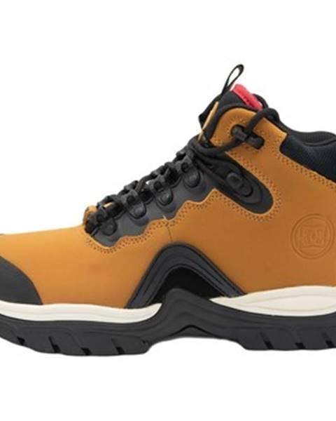 Hnedé polokozačky DC Shoes