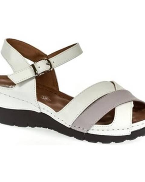 Biele sandále Let Get