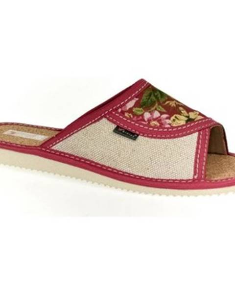 Ružové papuče John-C
