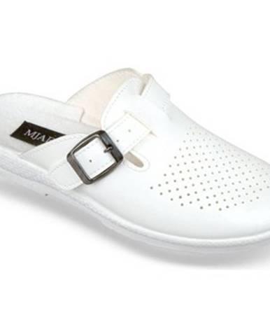 Biele papuče Mjartan
