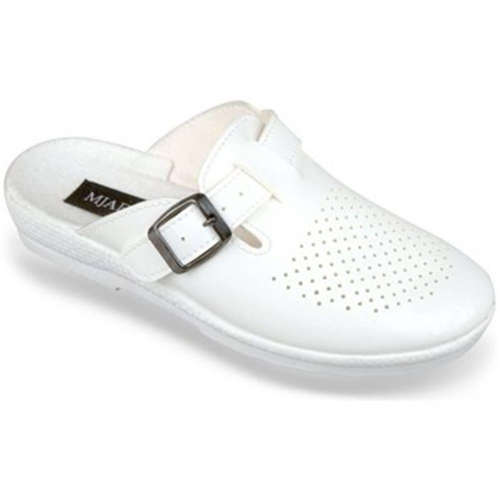 Mjartan Nazuvky Mjartan  Dámske biele papuče  ANDREJKA