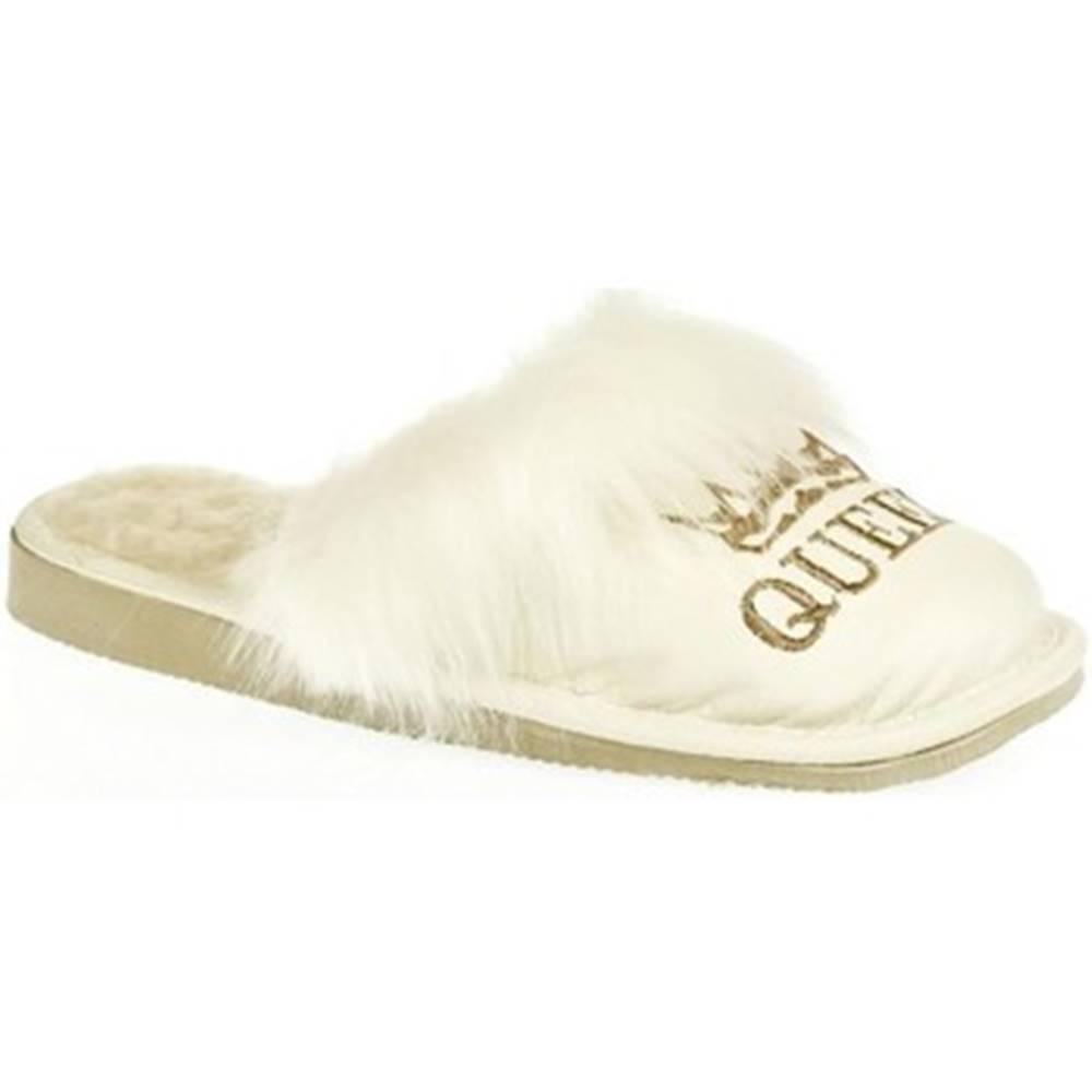 John-C Papuče  Dámske biele papuče QUEEN