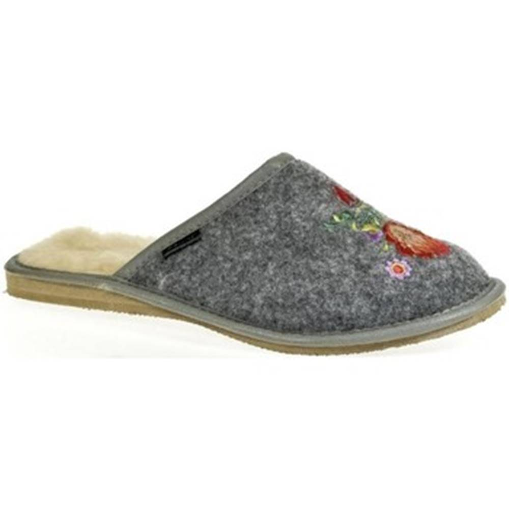 Just Mazzoni Papuče Just Mazzoni  Dámske sivé papuče LYANA