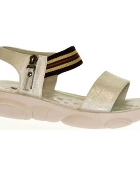 Strieborné sandále Yal
