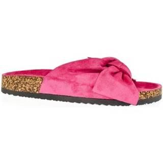 Šľapky  Dámske ružové šľapky ESPERTA