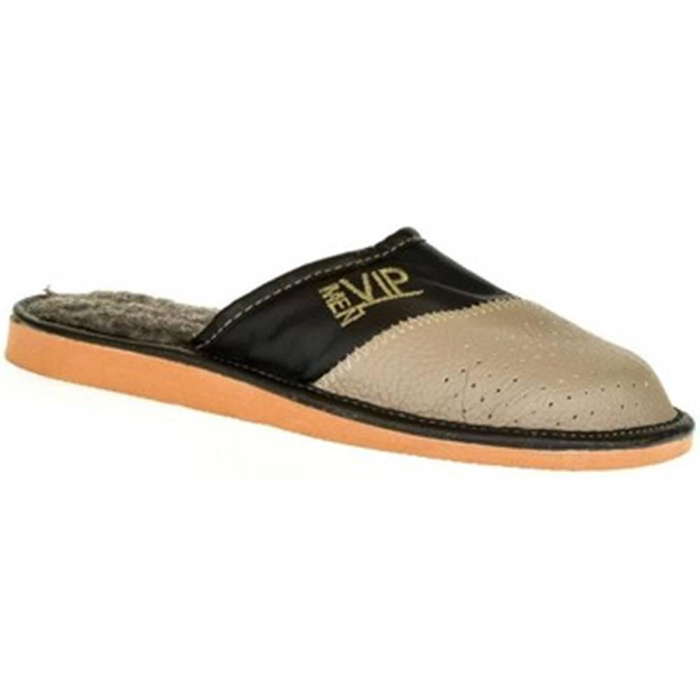John-C Papuče  Pánske sivé papuče VIPMEN