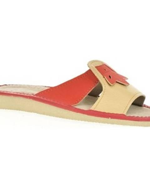 Oranžové papuče John-C