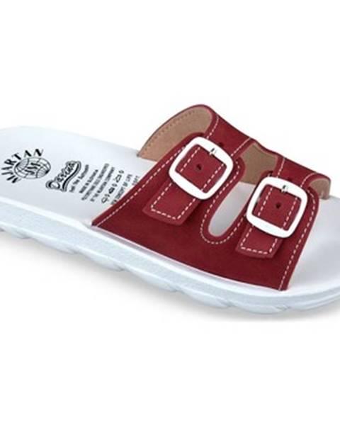 Červené topánky Mjartan