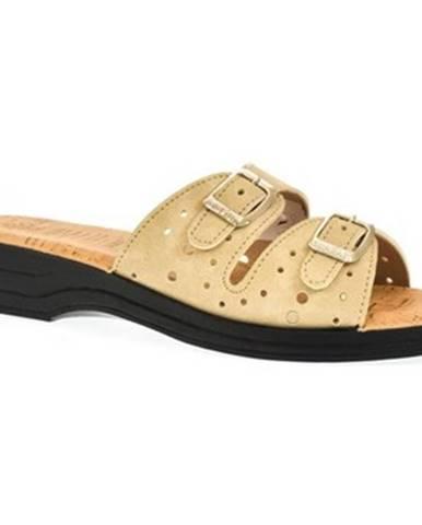 Béžové topánky Mjartan