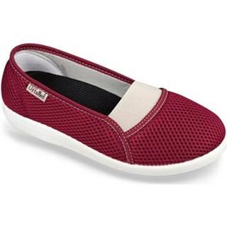 Papuče Mjartan  Dámske bordové papuče  DENISA