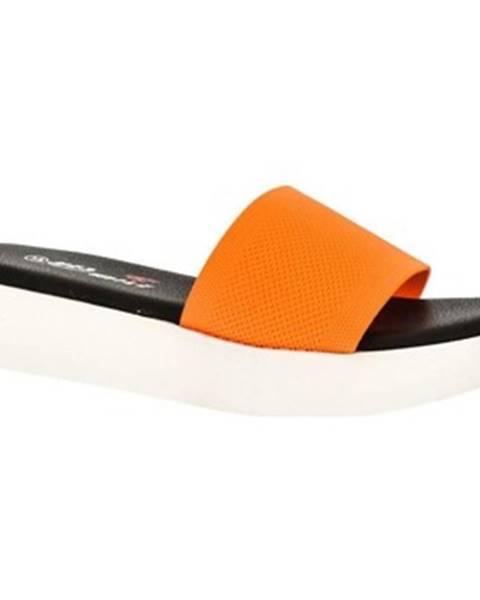 Oranžové topánky Yes Smile