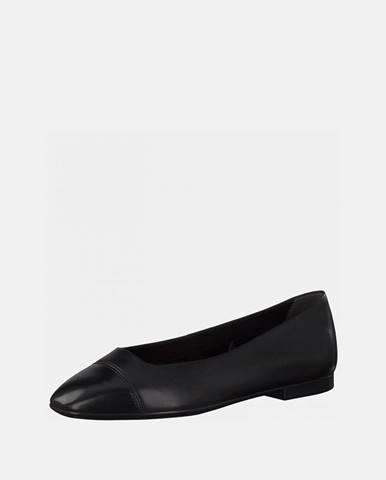 Čierne balerínky Tamaris