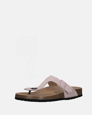 Svetloružové papuče Tamaris