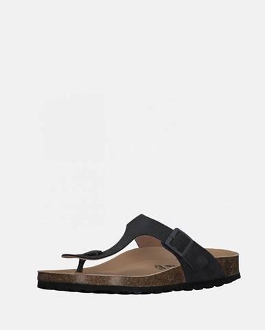 Tmavosivé papuče Tamaris