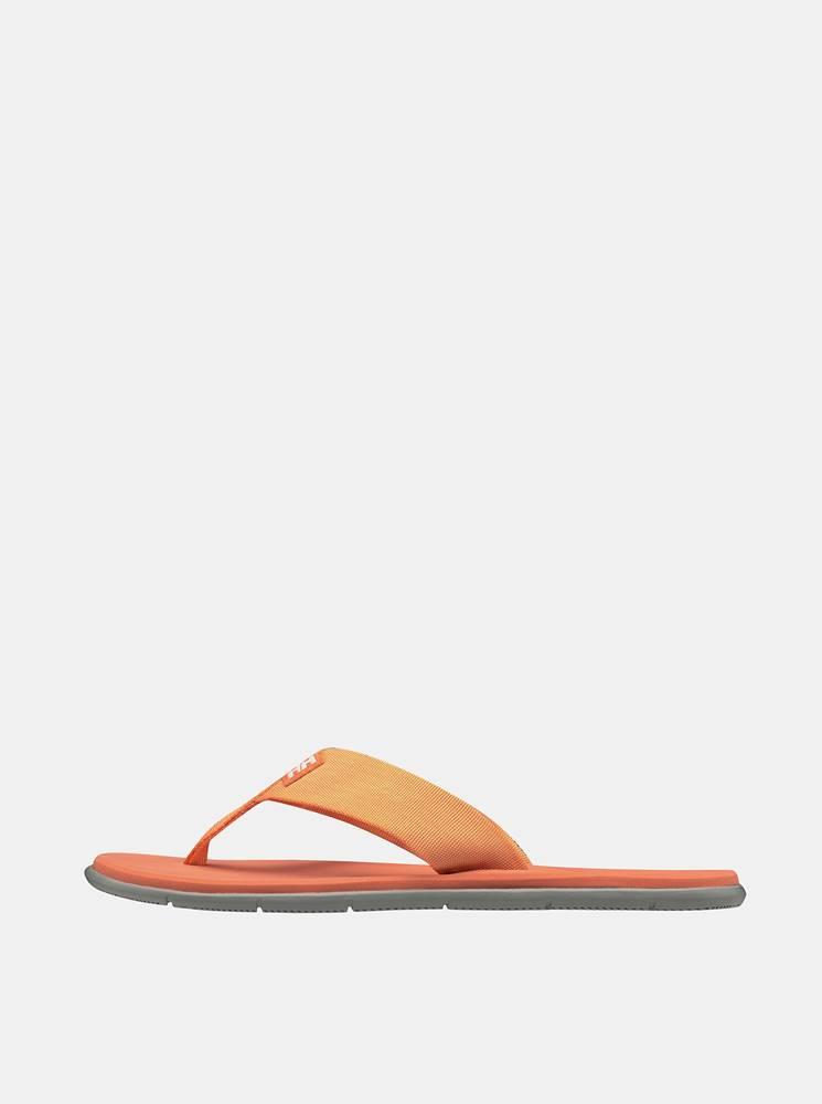 Helly Hansen Oranžové dámske žabky HELLY HANSEN