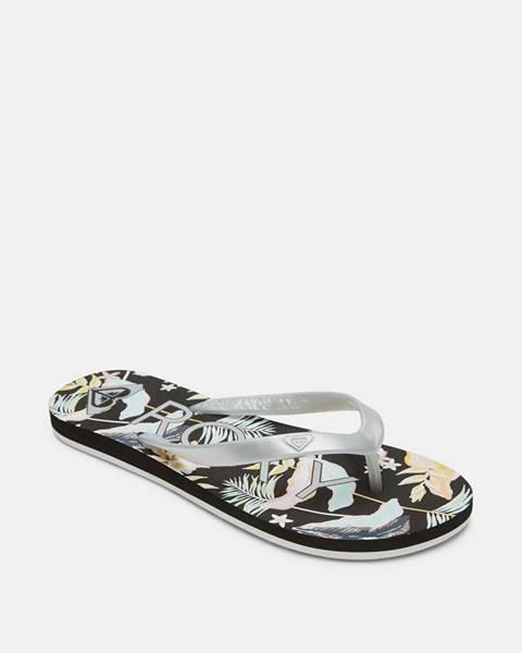 Sivé papuče Roxy