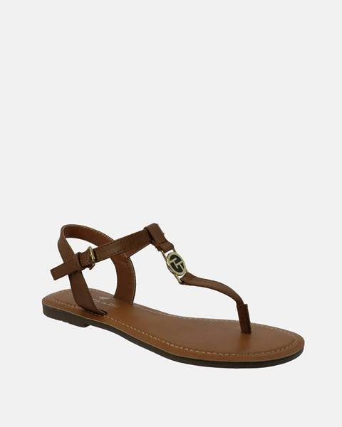 Hnedé sandále Tom Tailor